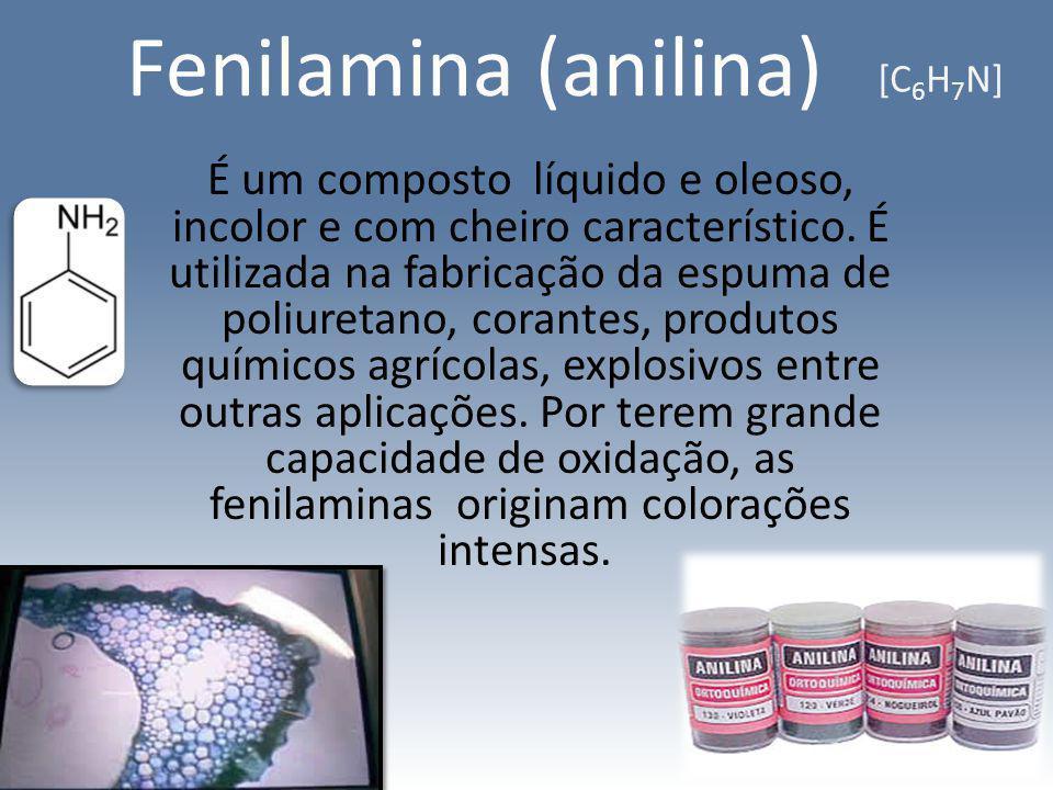 Fenilamina (anilina) [C6H7N]